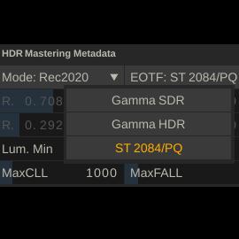 Hdr Metadata