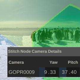 VR Stitch node